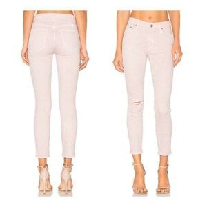 MOTHER The Looker Crop Blush Skinny Jean | 29